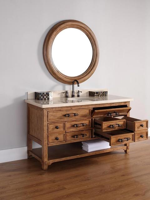 "60"" Malibu Single Bath Vanity traditional"
