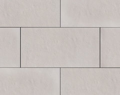 Coronado Smooth Limestone Tile - Color: Cream - Stone Veneer Tile modern