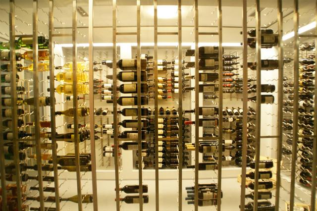 Rivercrest Drive modern-wine-cellar