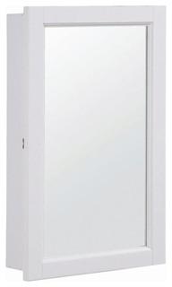 Concord Ready-To-Assemble Single Door Medicin - Contemporary - Medicine Cabinets - by ivgStores