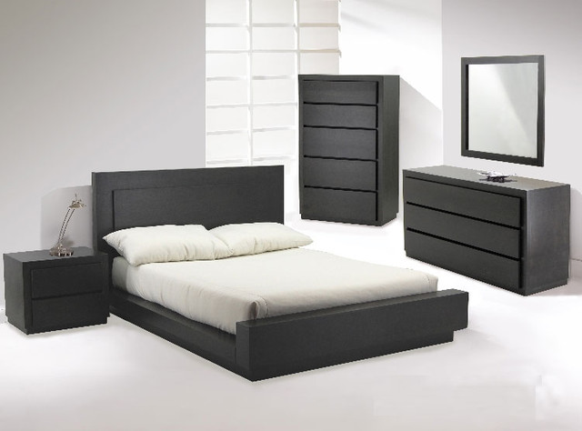 Castella Designer Platform Bedroom Suite By Huppe - modern - beds