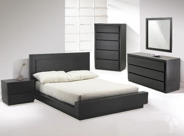 Castella Designer Platform Bedroom Suite By Huppe Modern