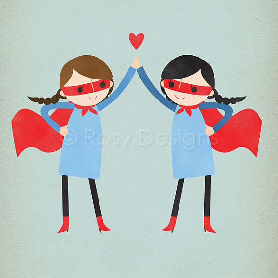 Super High Five, Girls contemporary artwork