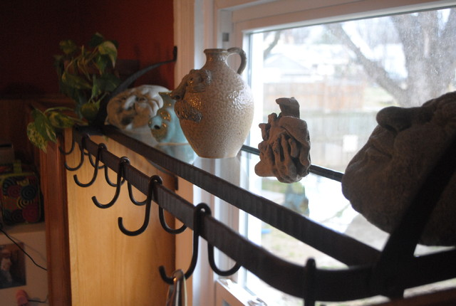 Window Pot Rack  pot racks