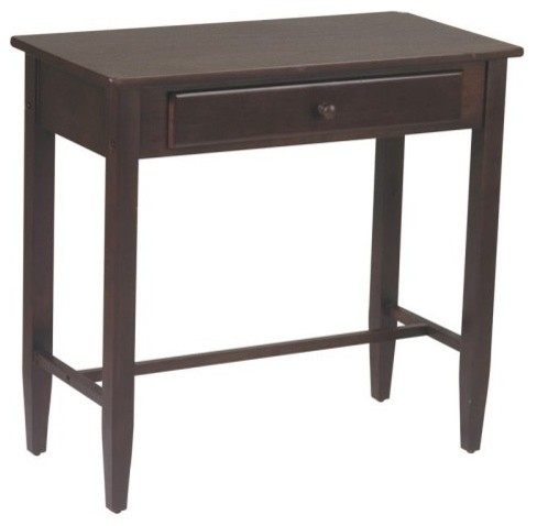 office star espresso foyer table espresso contemporary