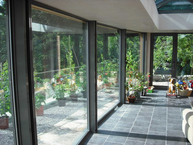 Modern and Contemporary Glass Extensions - other metro - by Bespoke Glass Extensions