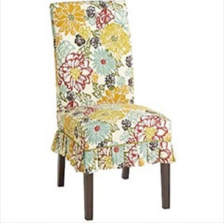 dana floral slipcover eclectic home decor by pier 1 imports
