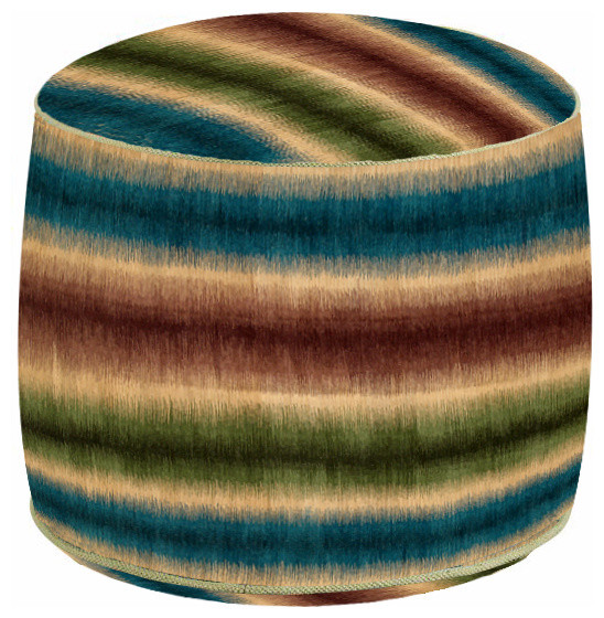 Cushions and poufs from Kilim rugs modern-floor-pillows-and-poufs
