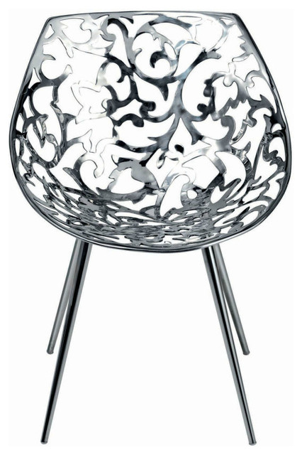 Miss Lacy Armchair Steel By Driade contemporary-armchairs-and-accent-chairs