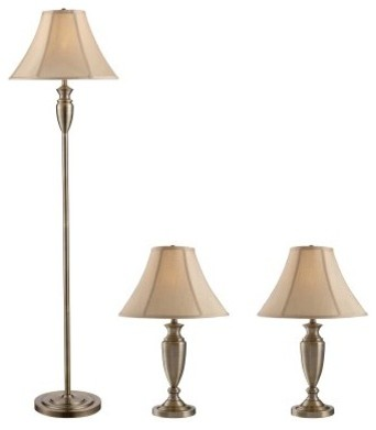 Z-Lite Portable Lamps 3P20 floor and table Lamps - Antique Brass modern-table-lamps
