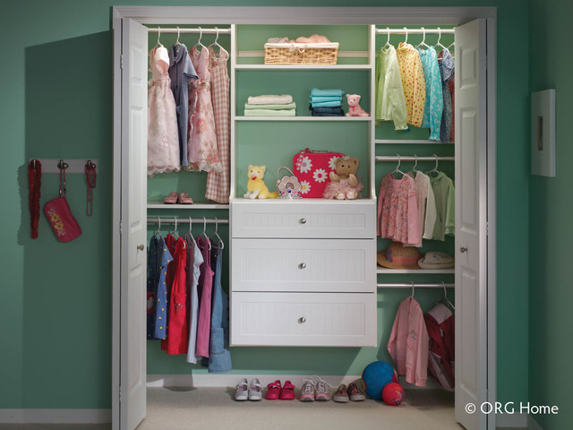 ORG Home Closet Organization Systems - eclectic - closet ...