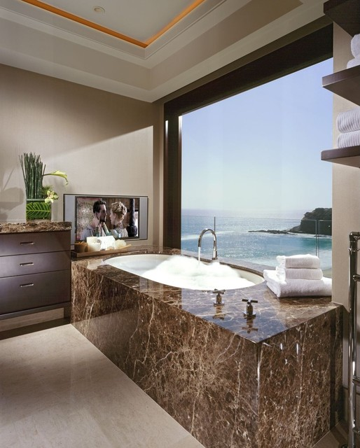 Seacliff modern-bathroom