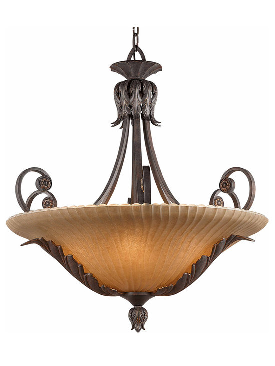 Triarch International - Triarch 39612-30 Vienna Weathered Bronze Pendant - Triarch 39612-30 Vienna Weathered Bronze Pendant