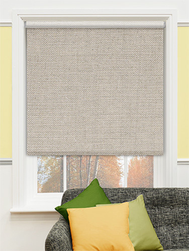 Decorative Roller Shades For Windows : Blinds premier decorative roller shades in palm rafia
