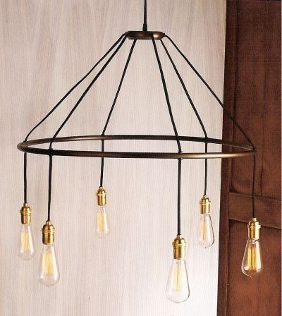 Halo Chandelier by Roost eclectic chandeliers