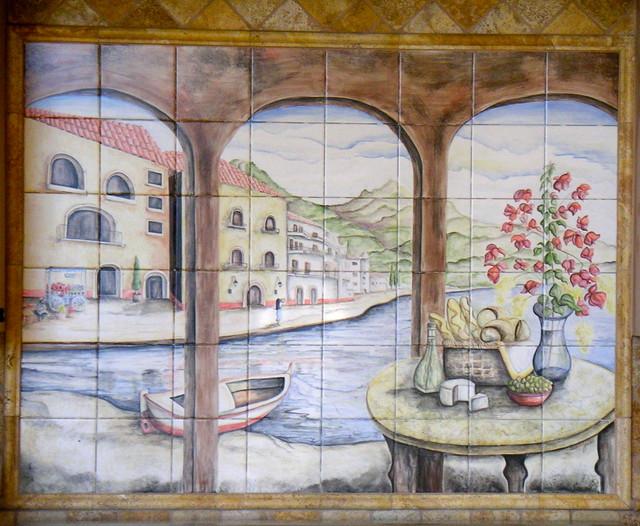 Italian Scene mediterranean-artwork