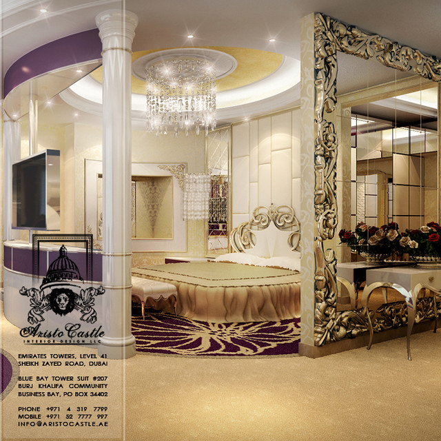 New designs traditional other metro by aristo castle for Castle interior designs