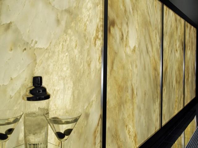 Back Lit Onyx Wall Panels