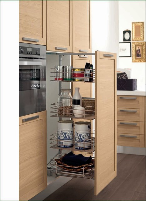 Italian Kitchen Cabinet Organization and Close-up Images - Contemporary - miami - by EVAA Home ...