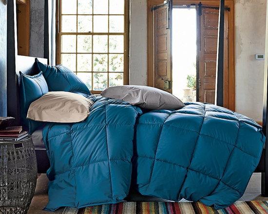 La Crosse Primaloft Deluxe Down Alternative Comforter, Deep Water -