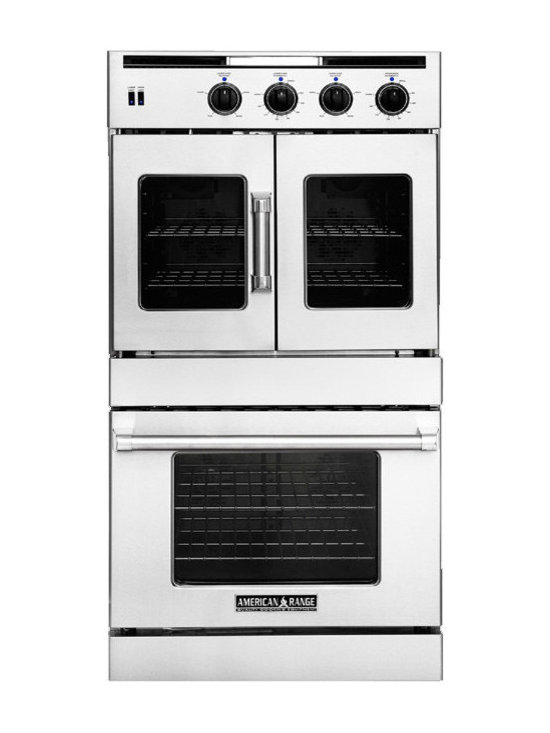 """American Range 30"""" Hybrid Gas & Electric Wall Oven, Stainless 