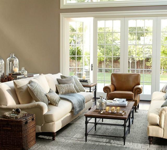 Carlisle Upholstered Sofa Traditional Sofas