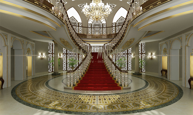 Doha Mansion 1 Qatar Traditional Entry Other Metro on traditional interiors kitchens luxury home