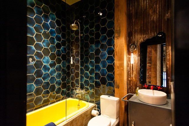 Hamilton Street contemporary bathroom