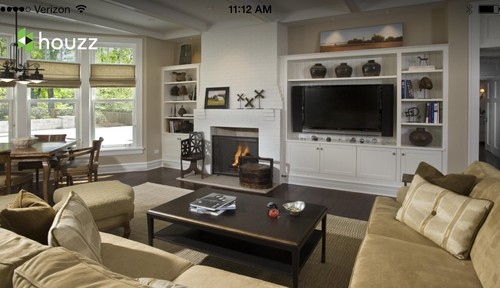 Wall Sconces Next To Tv : Where to put fireplace on same wall next to TV?