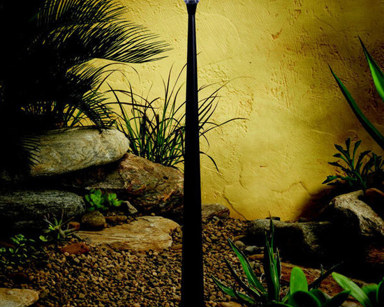 Kichler - 15804AZT Kichler LED Tapered Column Landscape Path and Spread Light - Call for best prices. Here's our low price guarantee.