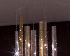 Rain Light Drops. (7 drops) modern-chandeliers