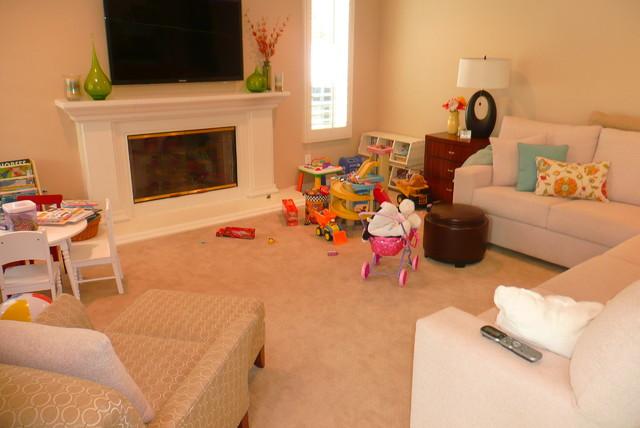 Calabasas Family Room contemporary