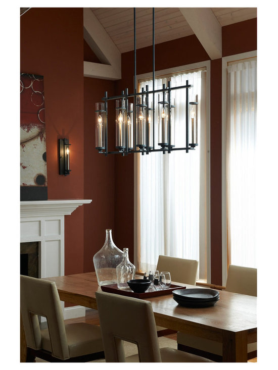 6- Light Single Tier Chandelier -