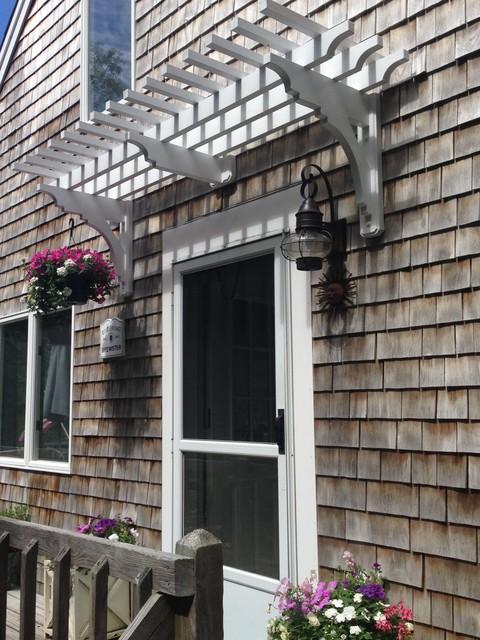 Door window trellis for Window trellis design