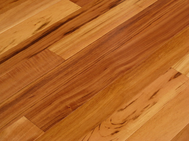 Brazilian tigerwood koa hardwood floors for Traditional flooring