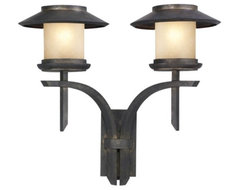 East West Passage No. 539481 Wall Sconce by Fine Art Lamps contemporary-outdoor-lighting