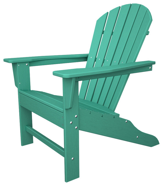 All Weather Adirondack Aruba Outdoor Recycled Plastic Furniture Beach Style Adirondack