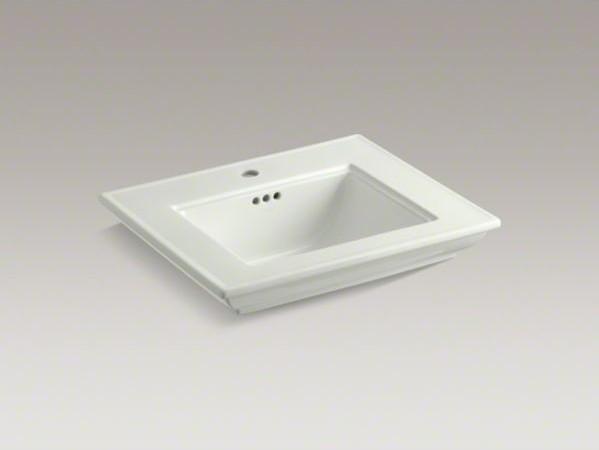 KOHLER Memoirs(R) stately bathroom sink basin with single faucet hole contemporary-bathroom-sinks