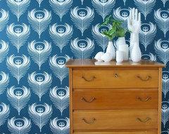 Ferm Living Feather Wallpaper modern-kids-decor