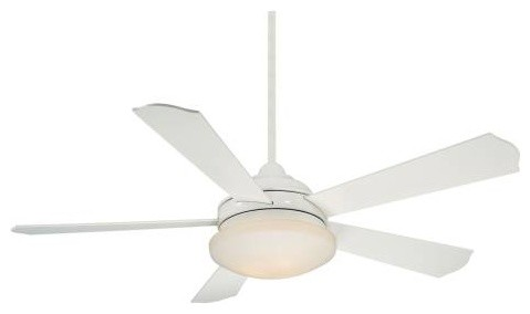 Savoy House Britton Ceiling Fan in White transitional-ceiling-fans
