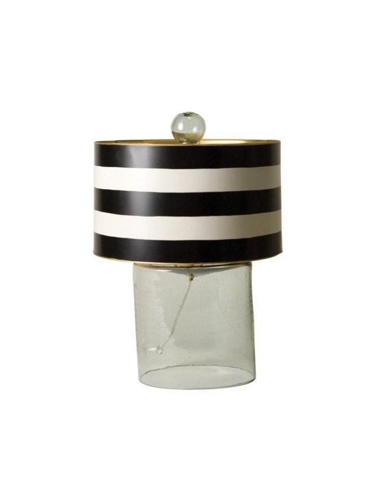 Sandy Glass Lamp -