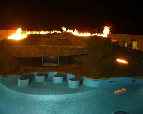 Fire Bowls For Pools And Backyards traditional-fire-pits