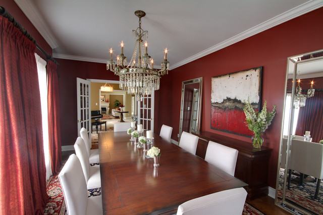 McPhail Way traditional-dining-room