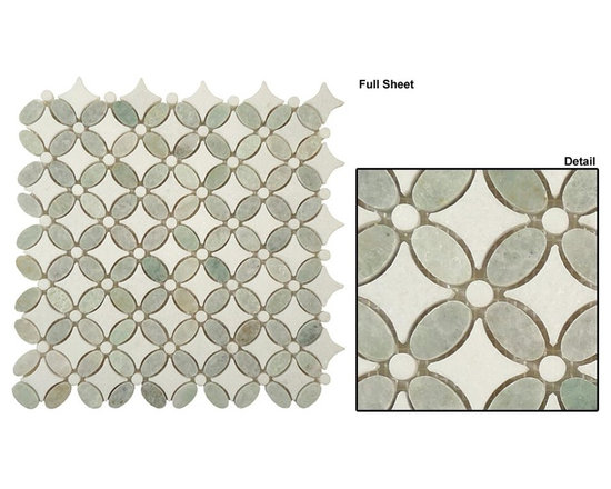 Mirage stone mosaic Flower series