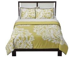 DwellStudio Foliage Comforter Set eclectic-sheets