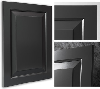 Chesapeake Graphite Showplace Cabinets - Traditional - Kitchen Cabinetry - other metro - by ...