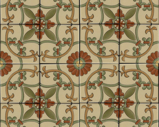 San Miguel Verano Catalina Porcelain Line of Tiles -