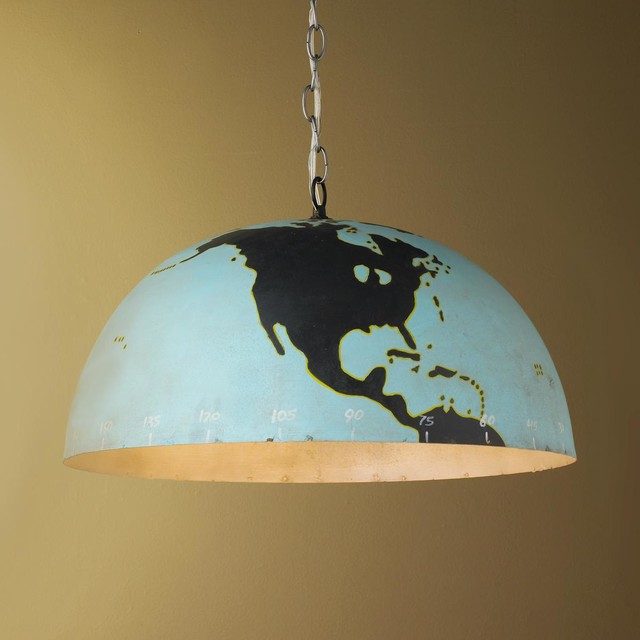 Metal Globe Pendant Pendant Lighting By Shades Of Light