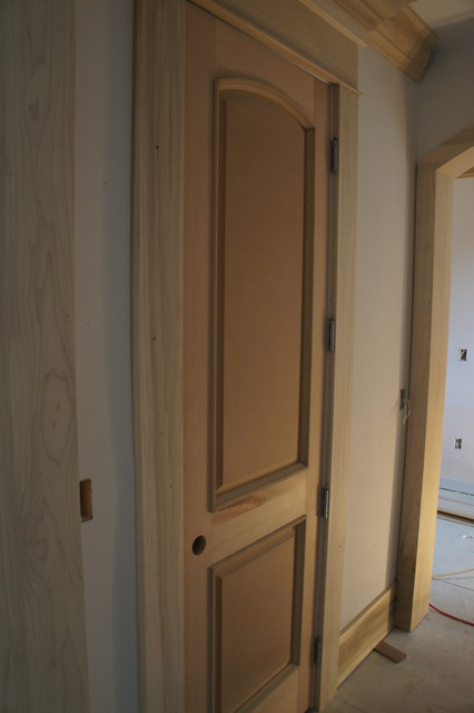2 Panel Arch Top Raised Bolection Molding Contemporary Interior Doors Vancouver By Doorex