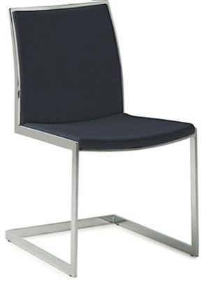 Temple Dining Chair, Black modern-dining-chairs